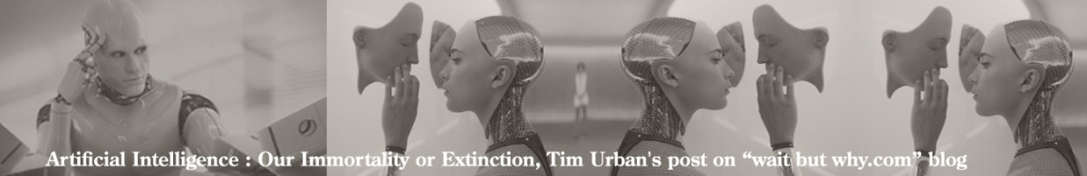 "Artificial Intelligence : Our Immortality or Extinction, Tim Urban's post on ""wait but why"" blog"
