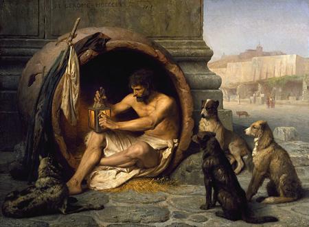 Diogenes, Jean-Léon_Gérôme_1