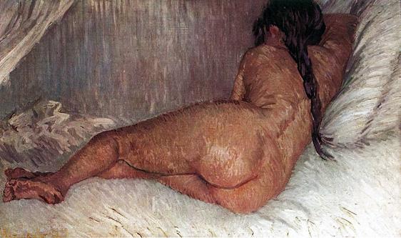 13. Reclining nude, Vincent van Gogh