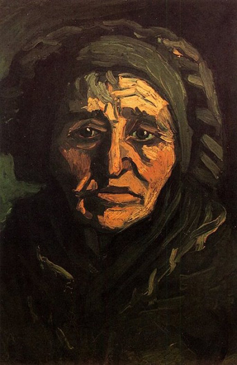 P10. Peasant woman with black bonnet
