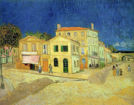 P14. The yellow house, Vincent van Gogh