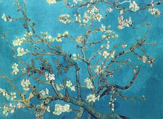 P17. Almond blossom, Vincent van Gogh