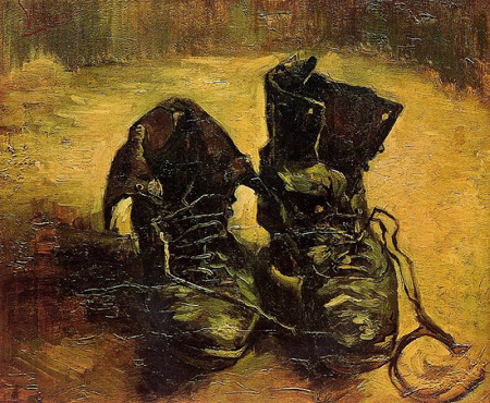 P9. A pair of shoes, Vincent van Gogh