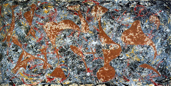 Jackson Pollock_1, Out of the web 1949