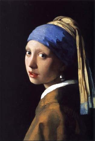 Vermeer_1_3, Girl With A Pearl Earring,Final, 1665