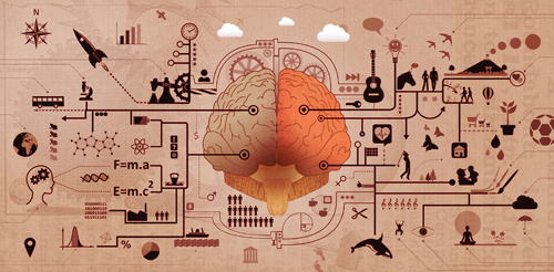 Learning and Education - Brain Functions Development Concept